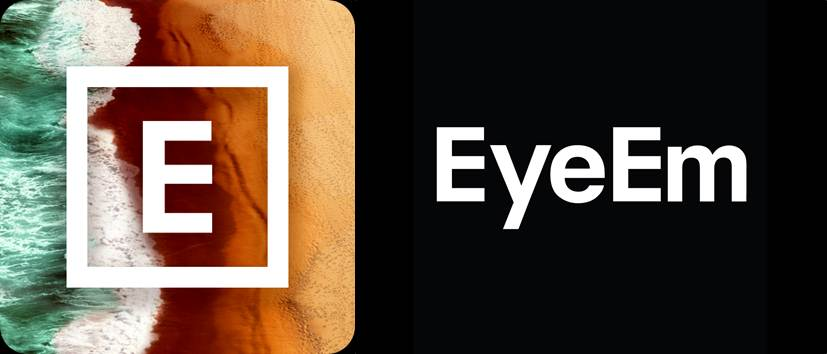 logo de la app y la plataforma eyeem