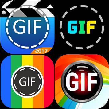 logo de las aplicaciones para hacer gif