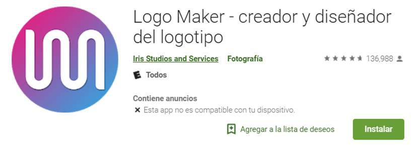 logo maker en google play store
