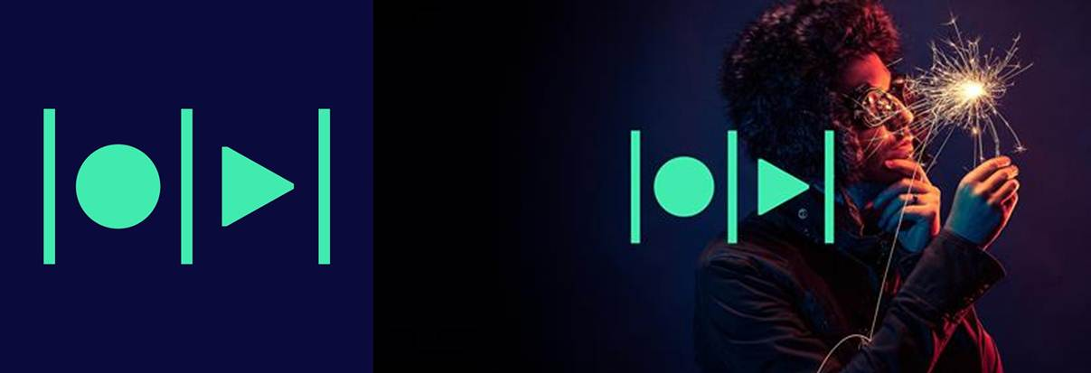 logo y banner publicitario de magisto