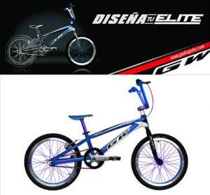 logo y bicicleta bmx personalizada en diseña tu elite