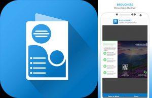 logo y diseño de folleto en catalog maker