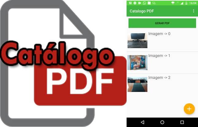 logo y escritorio de catálogo fotos pdf