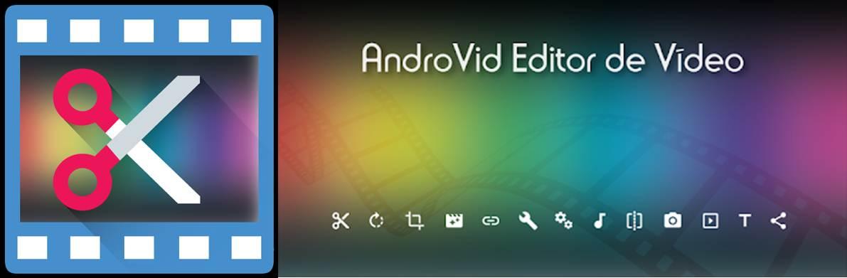 logo y gráfico de androvid