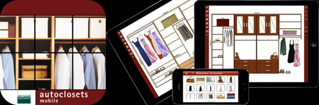 logo y publicidad de autoclosets mobile
