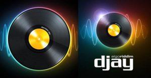 logos de la app djay 2