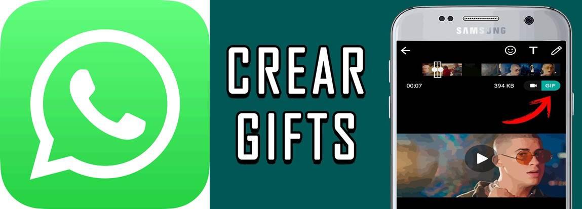 opción para hacer gif en whatsapp
