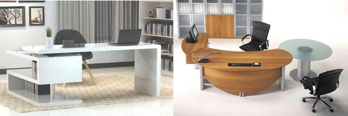 tipos de escritorios en la app diseño de escritorio de oficina