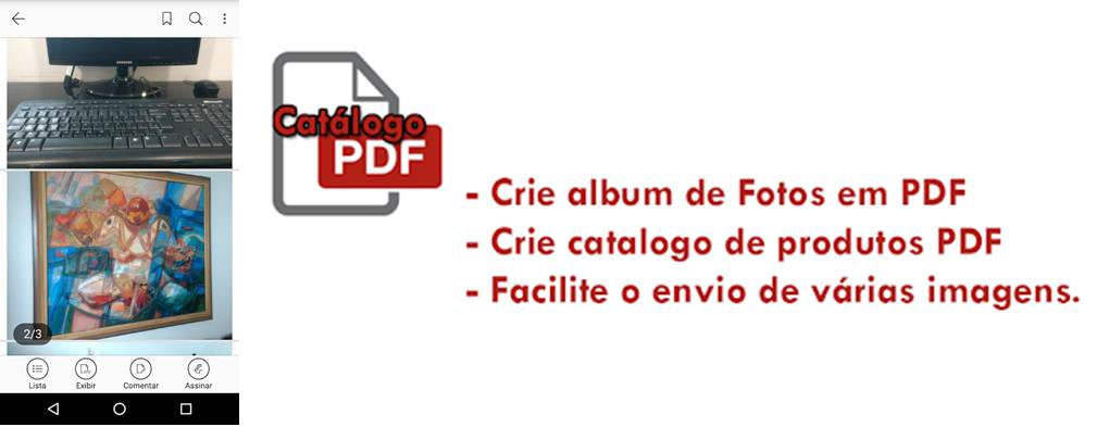 utilidades de la aplicacion catálogo fotos pdf