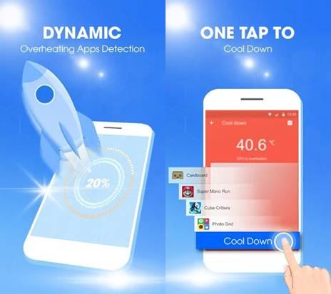 características de phone cooler