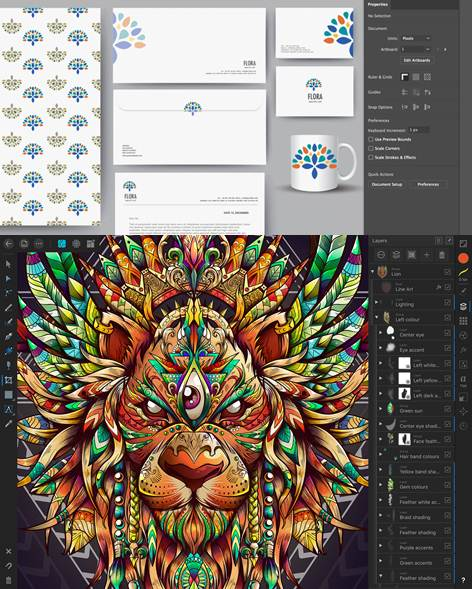 funciones destacadas de adobe illustrator