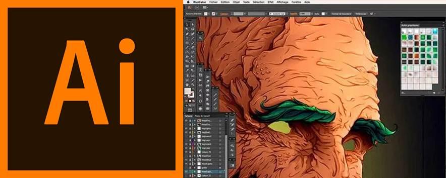 logo y creación hecha en adobe illustrator