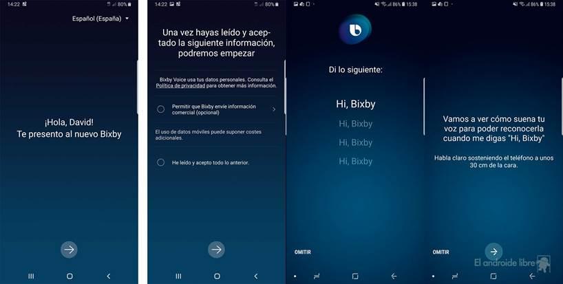 bixby - como activar