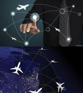rastreo de aviones con gps
