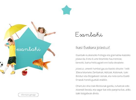 características de la app esanbaki