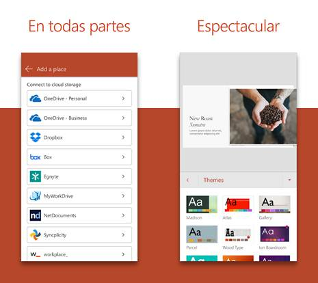 caracteristicas de la app