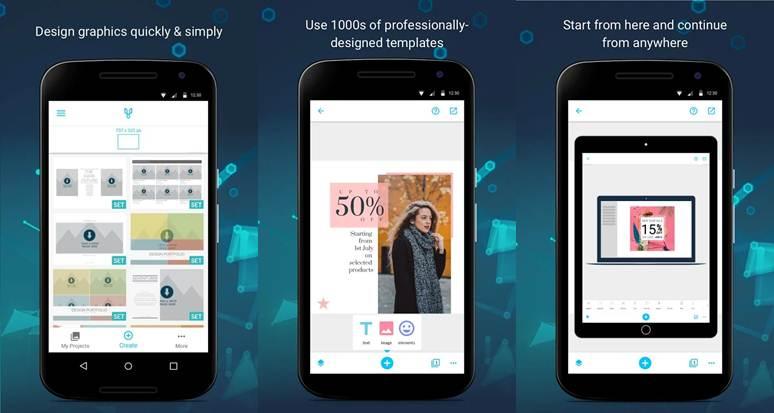 caracteristicas de la app creador de presentaciones