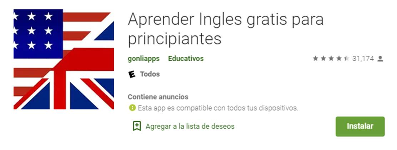 descargar aprende inglés gratis