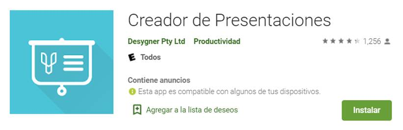 descargar creador de presentaciones