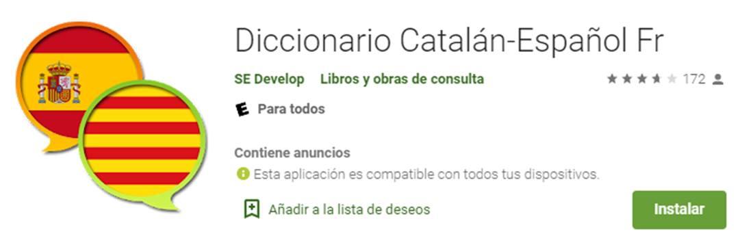 descargar diccionario catalán - español