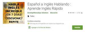 descargar español a inglés hablando