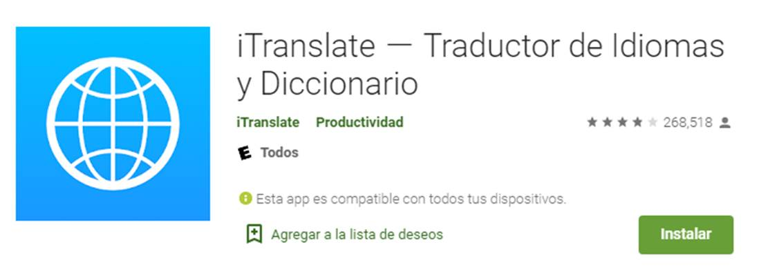 descargar itranslate