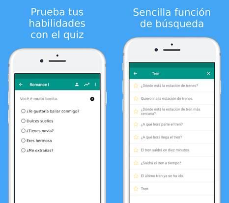 herramientas especiales de la app