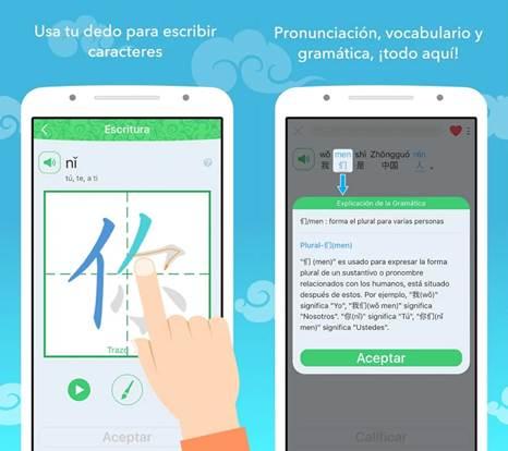 ventajas de emplear esta aplicación para aprender chino