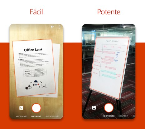 digitalizar documentos con office lens