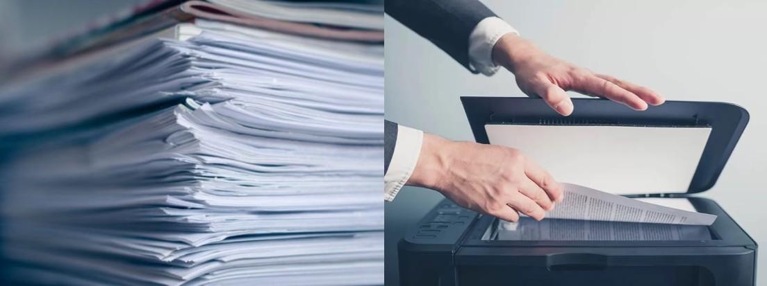 documentos y escáner