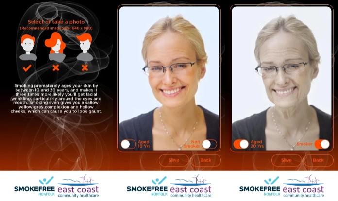 efectos de la app para dejar de fumar smooking time machine