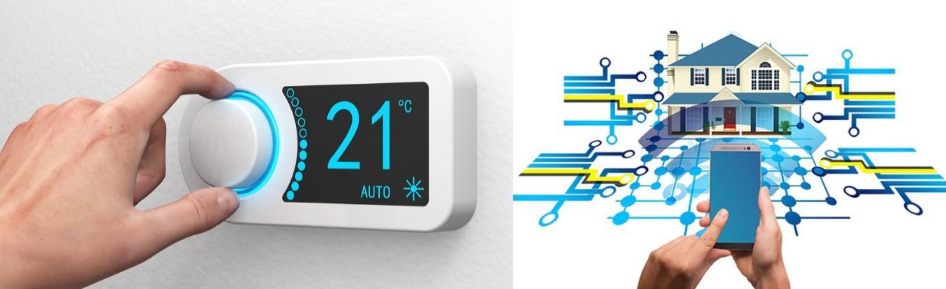 instalación de termostatos en casa