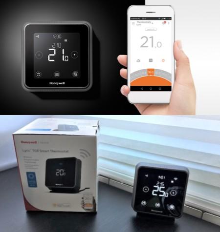 termostatos inteligentes marca honeywell