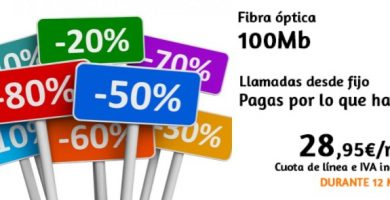 ofertas y publicidad de internet
