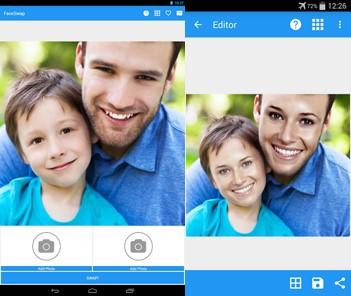 aplicaciones de cambiar caras face swap