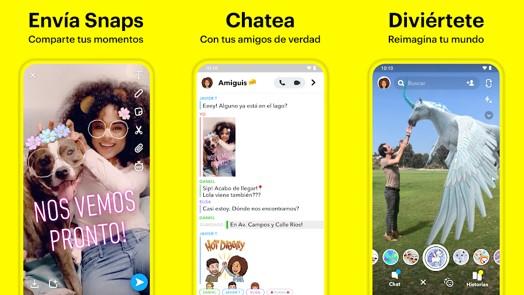 herramientas y filtros de snapchat