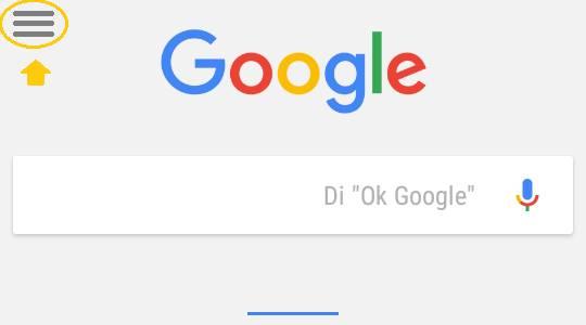 Configuración google now