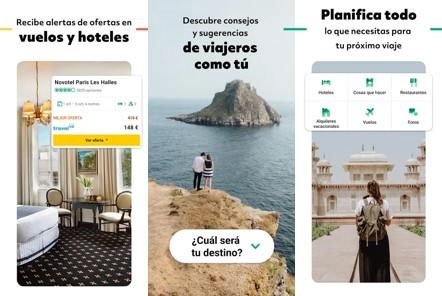 inicio de aplicación para viajar barato tripadvisor