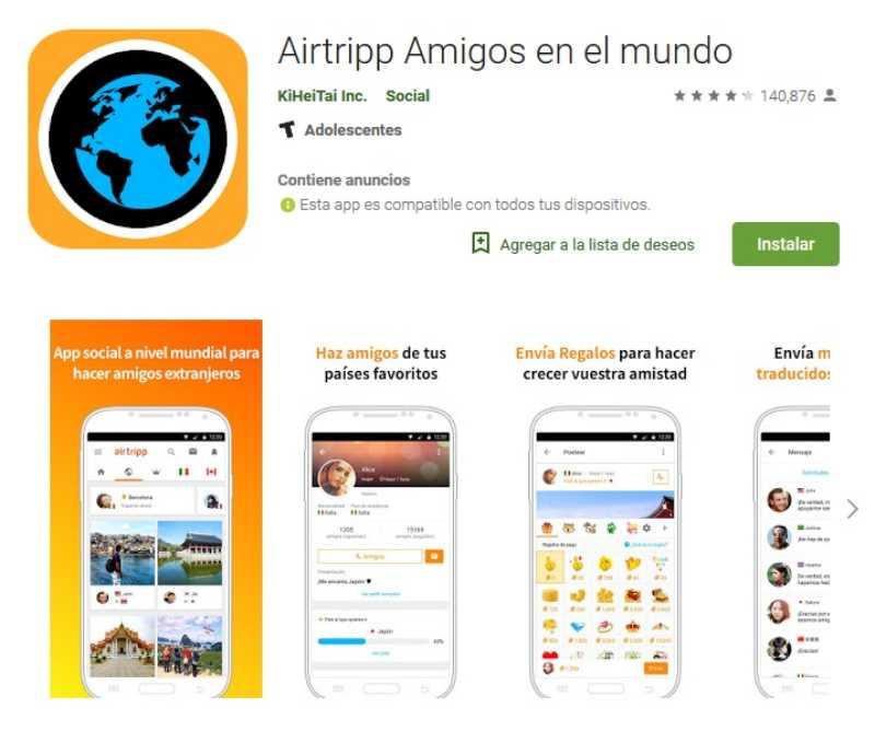 Apps para hacer amigos extranjeros