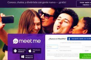 Para registrarter en MeetMe
