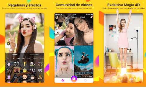 app like videos con fotos