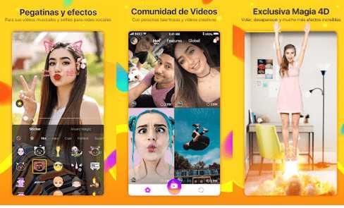 app like videos con fotos