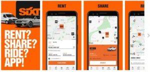 Aplicación para alquiler de coche