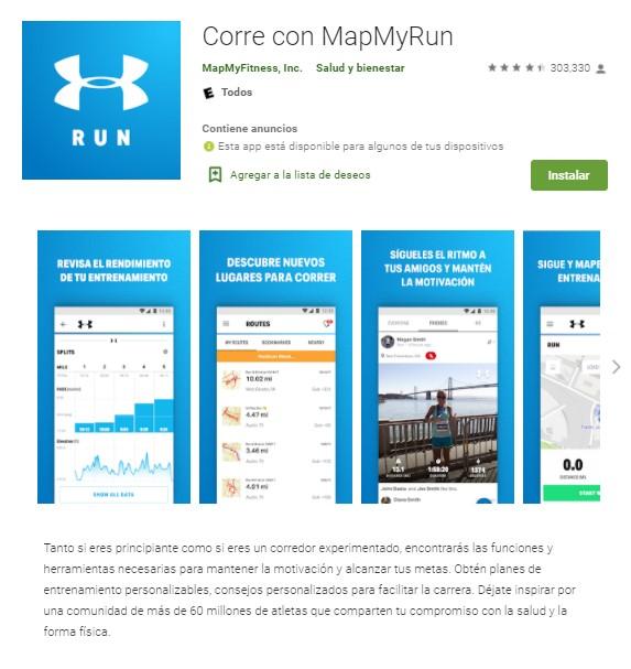 aplicaciones para correr