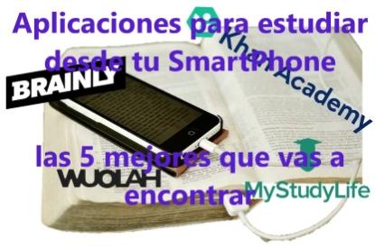 aplicaciones para estudiar