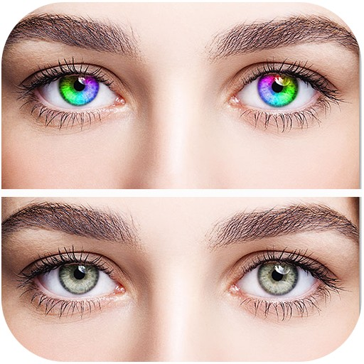 aplicaciones para cambiar el color de ojos