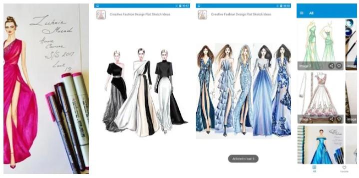 diseños creativos para vestidos