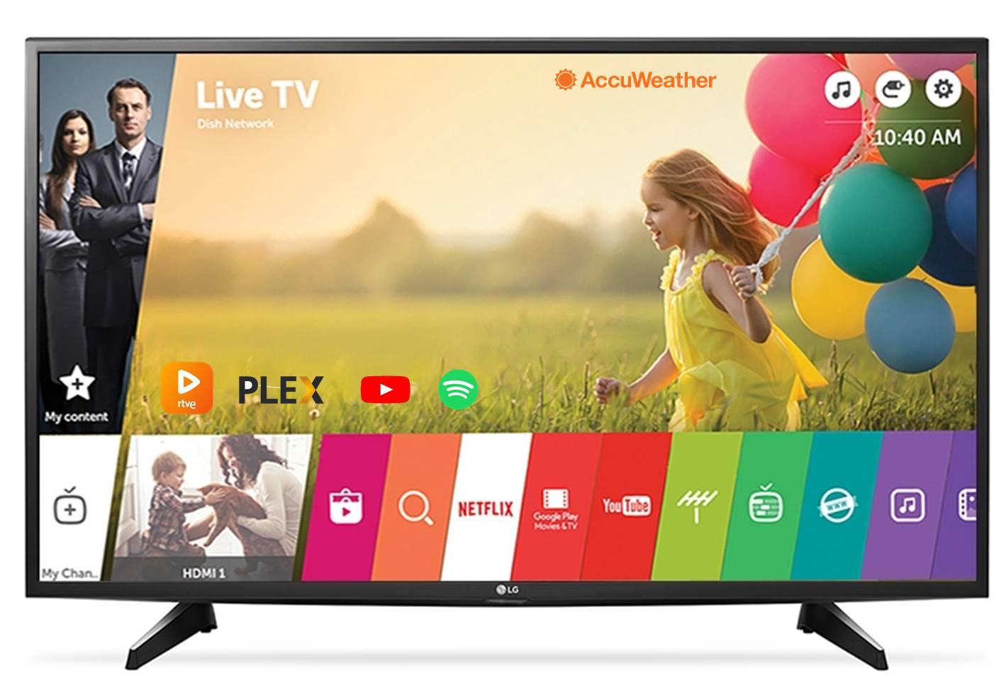 aplicaciones para smart tv lg