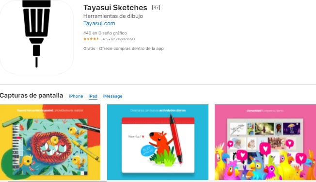 aplicaciones para dibujar en iPad
