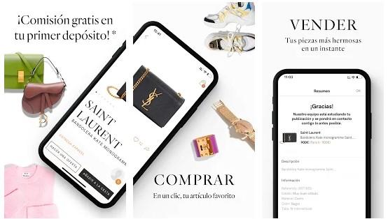 aplicaciones para vender y comprar ropa